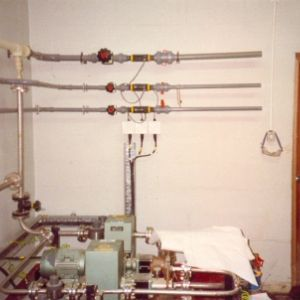 On-site installation of stainless steel and A.B.S/P.V.D.F pipework.